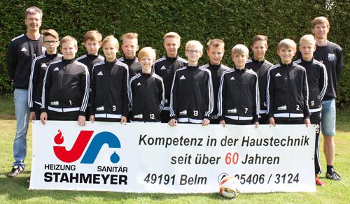 D1-Jugend_Mannschaftsfoto2016_17